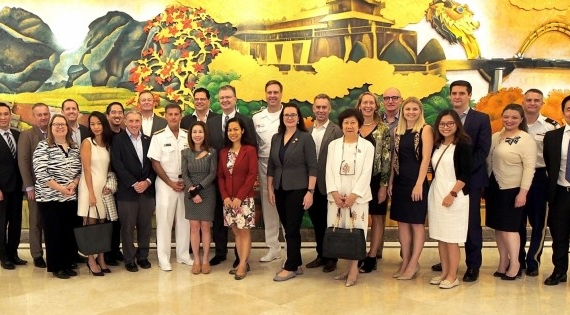 Sheraton Grand Danang Resort welcomes U.S. Diplomatic Relations Delegation in celebrating 25 years of diplomacy