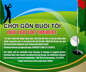 Night Light Golf Experience
