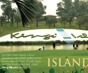 A visit to Kings' Island Golf Resort