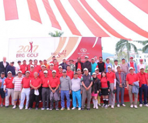 Opening ceremony of the 2017 BRG Golf Hanoi Festival with fabulous prizes