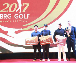 The 2017 BRG Hanoi Golf Festival successfully ended in the joy and excitement of golf lovers