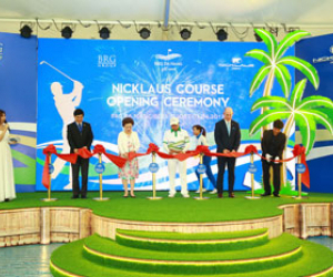 BRG Da Nang Golf Resort welcomes Asia's first true bulkhead course designed by the worlds leading golf course Architects, Nicklaus Design