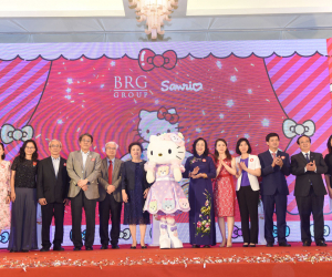 "The announcement of BRG Group starts to implement ""Sanrio Hello Kitty World Hanoi by BRG"" project"