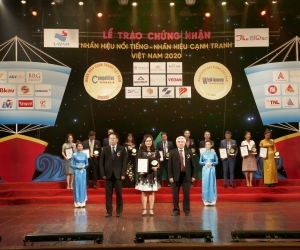BRG Group maintains top 10 ranking of famous brands in Vietnam