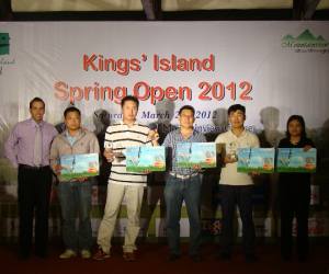 SPRING OPEN TOURNAMENT AT KINGS' ISLAND GOLF RESORT